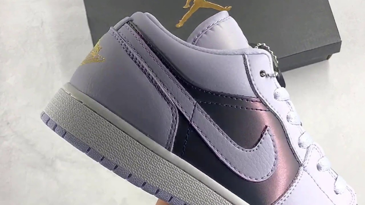 Air Jordan 1 Low Oxygen Purple Review