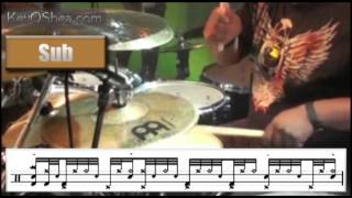 Chris Coleman Halftime Groove | Drum Lesson