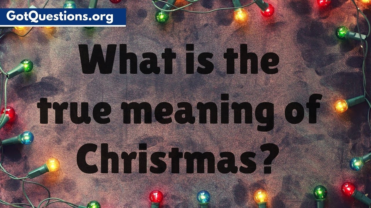 what is the true meaning of xmas