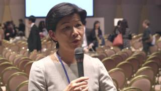 WAW!2016 Interview w/ Ms. Kathy Matsui, Vice Chiar of Goldman Sachs Japan Co., Ltd. (EN) thumbnail