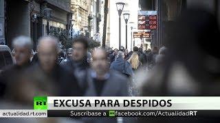 Argentina: Acusan empresas de utilizar la crisis como excusa para despidos