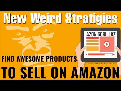 New Weird Strategies To Find Products To Sell On Amazon