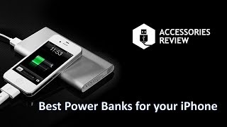 Best Power Banks for iPhone 6, 6s, 7, 7 plus, 8, 8 plus and iPhone X 2018