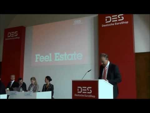 Deutsche EuroShop AG Hauptversammlung 2015