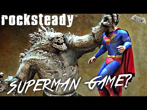 Rocksteady Superman Game in Development?