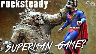 Rocksteady Superman Game in Development?