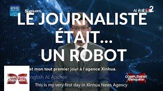 Complément d'enquête. Le journaliste était... un robot - 14 février 2019 (France 2)