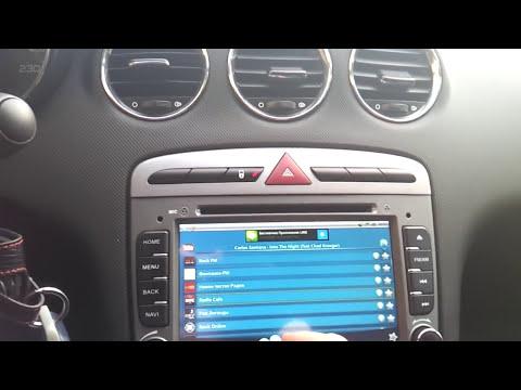 Магнитола на Android для Peugeot 308/408