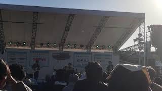 キンモクセイ復活ライブ- さがみはらフェスタ2018 2曲目.