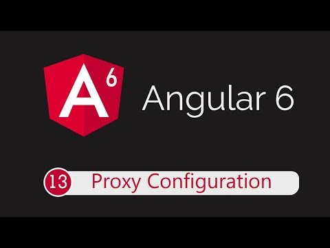 Angular 6 Tutorial 13: Configure Proxy For API Calls