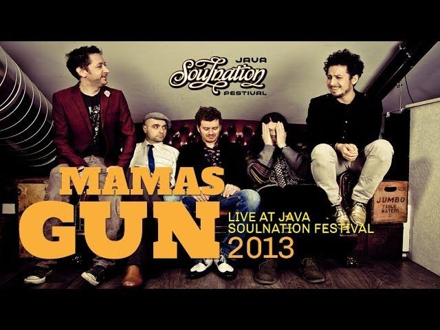 Mamas Gun Live at Java Soulnation 2013