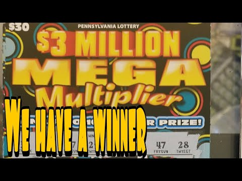 $900 book summary and contest winner. $3 MILLION MEGA MULTIPLIER. PA LOTTERY SCRATCH TICKETS.