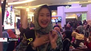 Aisyah dkk Bersalawat di Sunsilk Hijab Hunt 2018 Palembang