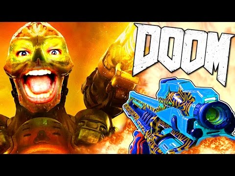 DOOM - EN MODE MONSTRE ET SNIPER !!!