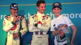 BTCC Silverstone 2014 - Jason Plato & Sam Tordoff Driver Q&A - KX Tesco Club Card Fuel Save