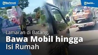 Viral Video Rombongan Acara Lamaran di Batang Bawa Seserahan Lengkap, dari Isi Rumah hingga Mobil
