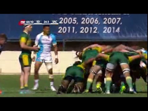 Powerful scrum from Sacramento leads to score from Sumsion 4/23/16
