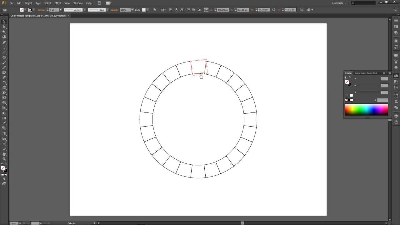 how to create a color wheel template in adobe illustrator cs6, Powerpoint templates