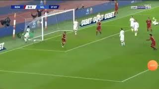 AS Roma vs AC Milan 1-0 Highlights & Goals