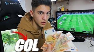 LE DOY 100€ a MI HERMANO por cada GOL en FIFA 19