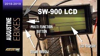 Як налаштувати ЕО-900 РК-екраном, електричний багатофункціональний велосипед контролер дисплея.