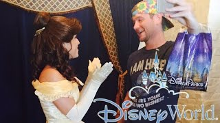 Walt Disney World Trip Day 6 - Disney Princesses - Ariel, Belle, Cinderella, Aurora, Snow White