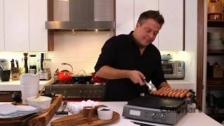 Eggs, Sausages and Pancakes using the Cuisinart Griddler® Deluxe