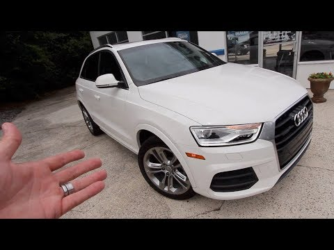 Taking a Tour of this 2016 Audi Q3 Premium Plus - Review @ Low Country Preowned | Mt. Pleasant, SC