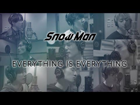 Snow Man「EVERYTHING IS EVERYTHING」Rec Movie