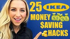 25 IKEA Hacks & IKEA Tips! Save Money On Your Next IKEA Haul!