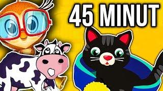 MIX - KRÓWKA MUU - DZIECIĘCE PRZEBOJE 45 MINUT TELEDYSKÓW!