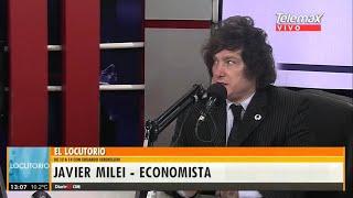 """""""Estamos a las puertas de una hiperinflación"""" Javier Milei- 14/08/19"""