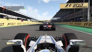 F1™ 2017 Brazil  1st lap