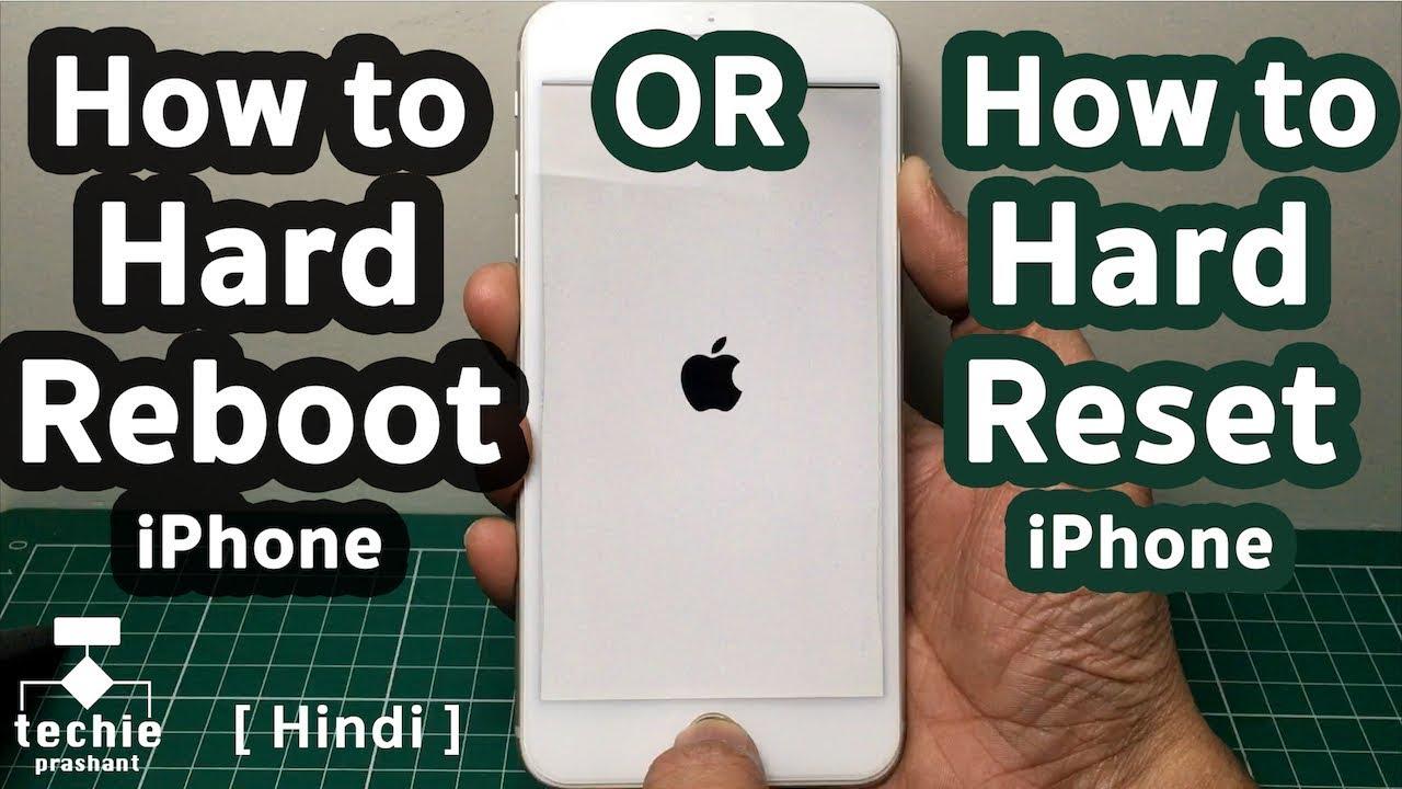iphone 4 hard reset