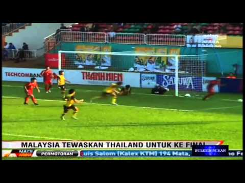 [Newspaper Cup 2012] : Harimau Muda Vs Thailand B21