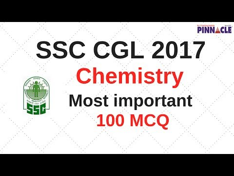 SSC CGL preparation 2017 : chemistry 100 most important MCQs I general science Agni 40 + project