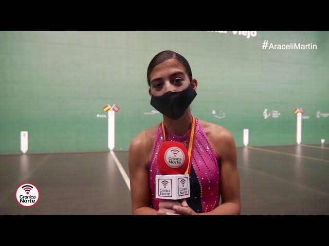 VIDEO de la Campeona colmenareña Araceli Martín, medalla de plata en Patinaje Artístico