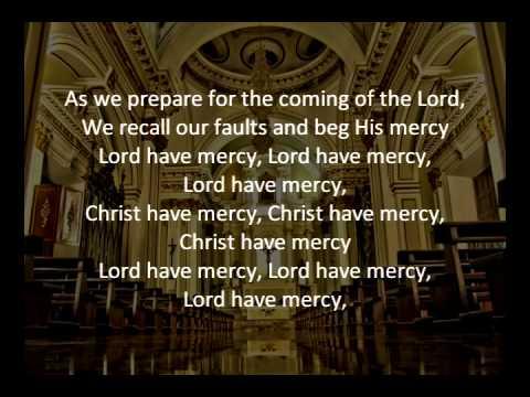 As We Prepare Lord Have Mercy Instrumental Karaoke