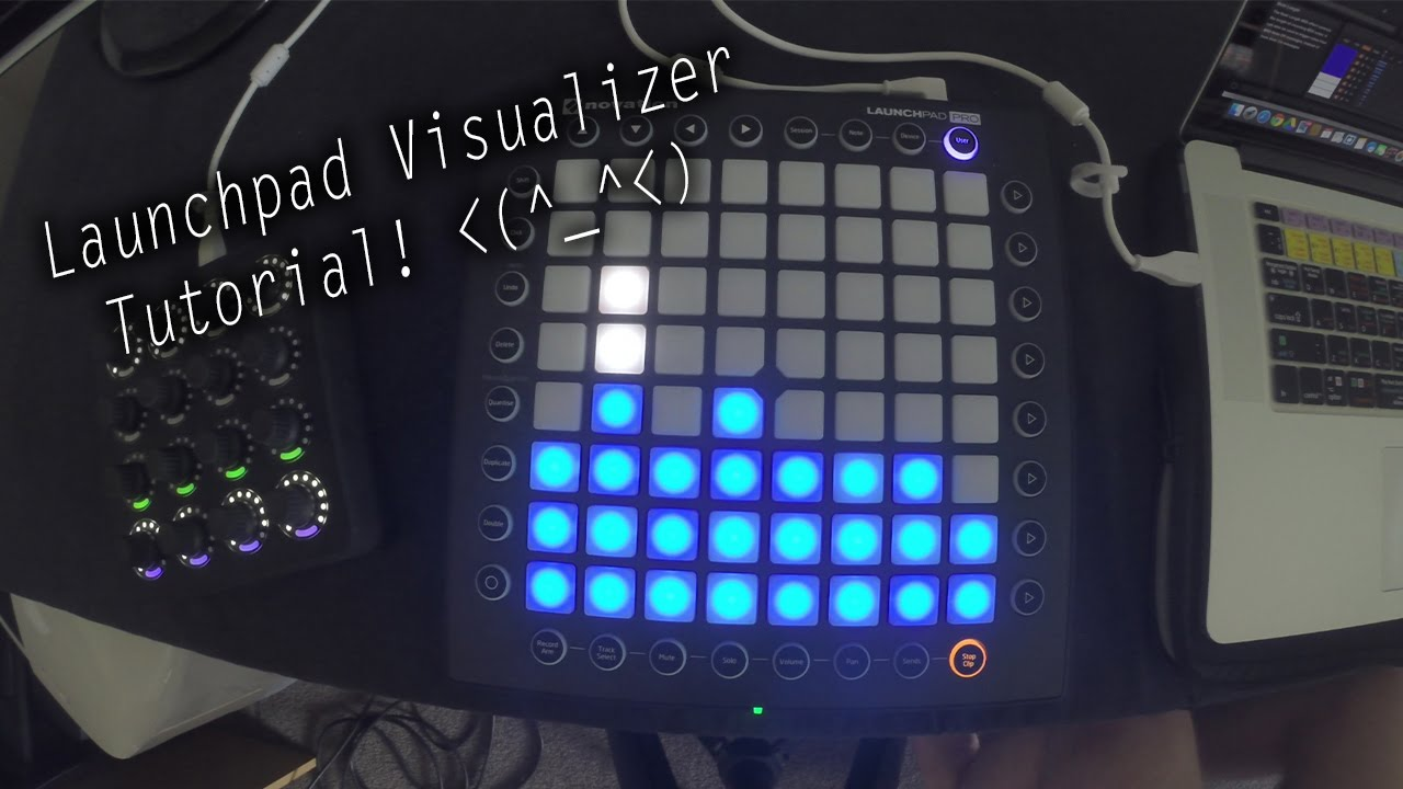 Sound Reactive Launchpad Visualizer! | Ableton