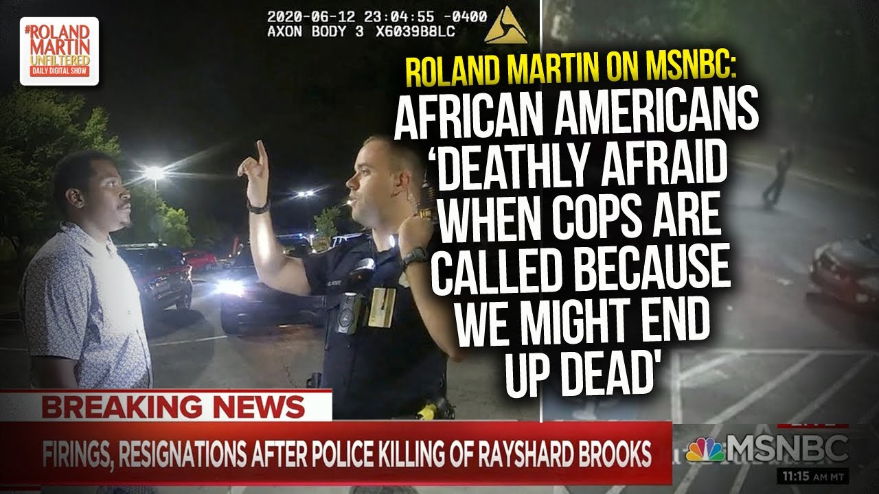 Roland: African Americans 'Deathly Afraid When Cops Are Called Because We Might End Up Dead