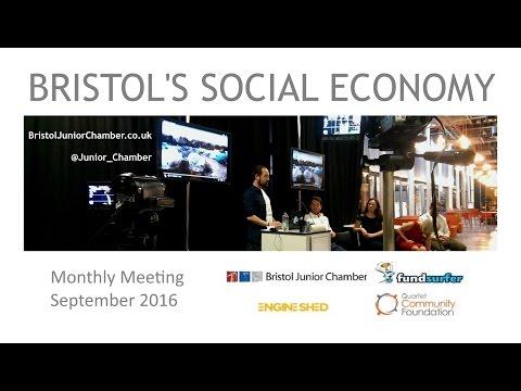 "ENGINE SHED Bristol Junior Chamber ""Bristol's Social Economy"" (September 2016)"