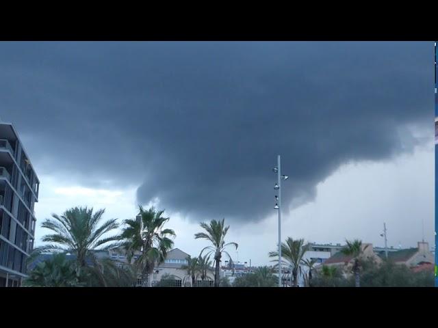 Espectacular núvol d'aspecte tornàdic - Badalona - Setembre 2020