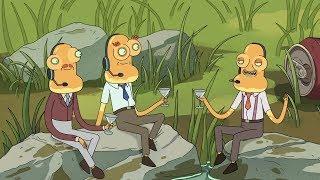 Rick and Morty Season 3  All After Credits Scenes (HD)