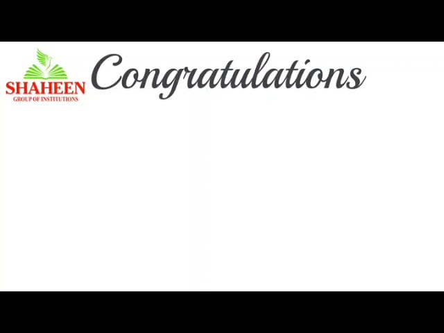Congratulations Our Student Nishat Fatima secured 9th Rank in Karnataka State CET   Shaheen Bidar