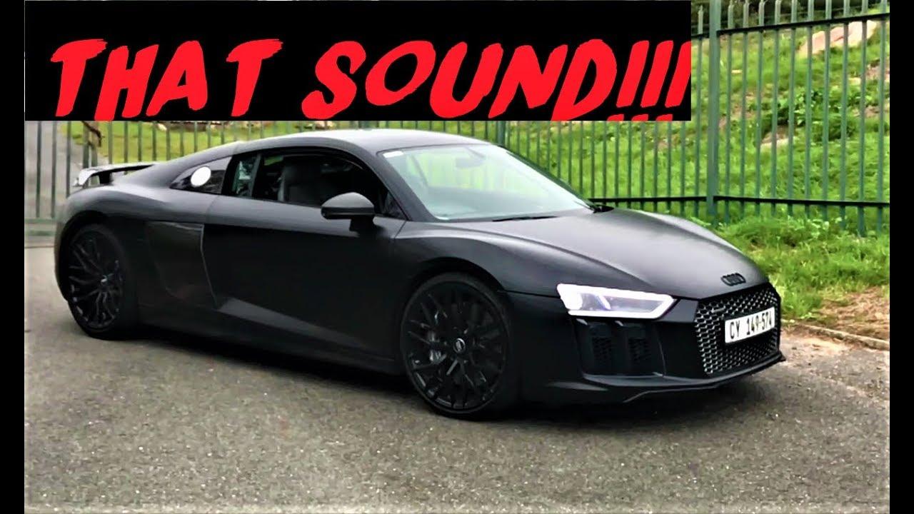 Audi R8 V10 Plus, Im still shaking!