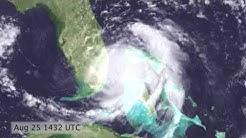 Hurricane Katrina Satellite Timelapse (2005.08.24 - 2005.08.30) [720p]