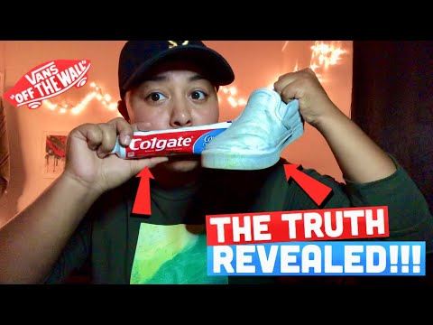 DOES TOOTHPASTE REALLY CLEAN YOUR SHOES??! **THE TRUTH REVEALED**