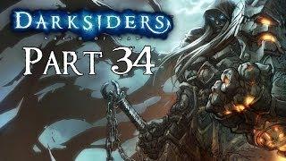 Darksiders 100% Walkthrough Part 34 ( Iron Canopy ) Boss Fight: Silitha