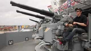Quad 40mm 56 Cal Gas Powered Machine Gun
