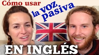 Voz pasiva en inglés - (muy fácil)